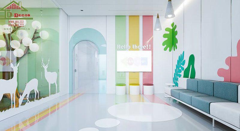 thiết kế phòng khám nhi