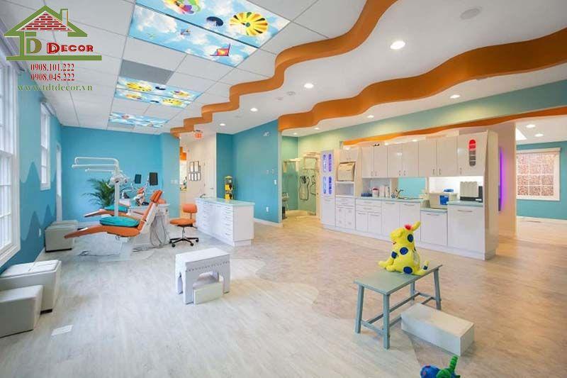 Thiết kế phòng khám nhi chị Dương quận 4