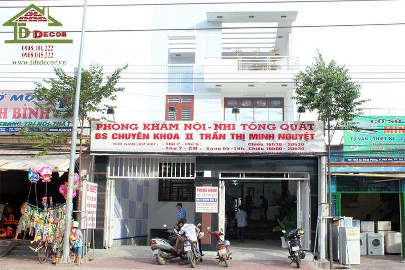 Thiết kế phòng khám nhi anh Phi quận Bình Thạnh