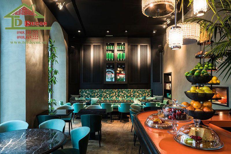 Tổng hợp các dự án thiết kế quán cafe 80m2 đẹp hiện đại và ấn tượng