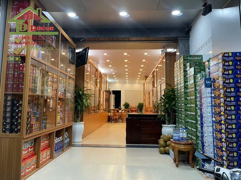Thiết kế shop yến sào Yến Việt tại Trà Vinh